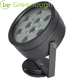 Superbe GNH GL 9X1W C LED Spot Light/LED Garden Light/LED