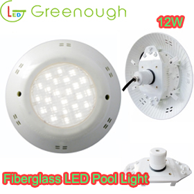 LED Fiberglass Pool Light/ underwater Pool Light GNH-P56M-12*1W-F2 (SMD5730)