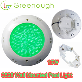 12V 15W 3528SMD GNH-P56M-252D5-V1 Wall mounted Pool light /Concrete Pool&Spa Lights