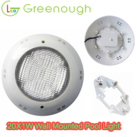 concrete pool light/surface Mounted LED underwater Pool Light/ Spa Pool Light GNH-P56M-20*1W-V1