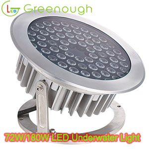 LED Underwater Light LED Fountain Light GNH-UW-60X3W-O 72W