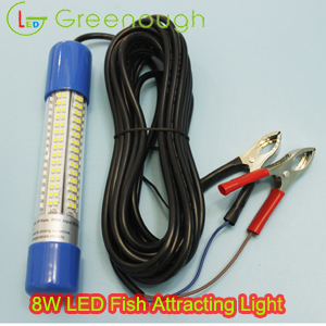 led fish attracting lightfish attracting light underwater green, Reel Combo