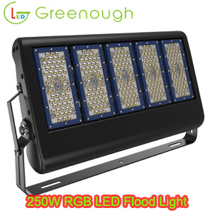 Dimmable RGB LED Flood Light LED Projector Light Outdoor LED Spot Light style#GNH-FL-MN08-250W