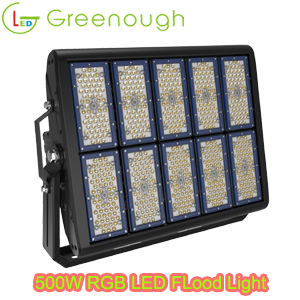 LED Fish Light Marine Flood Light RGB LED Garden Light style#GNH-FL-MN08-500W
