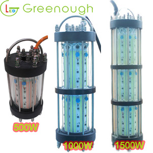 NEWLY 500W 1000W 1500W LED Boat Fish Light Fish Attractor Light Underwater Fish  Light