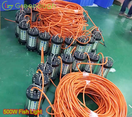 Newly 500w 1000w 1500w Led Boat Fish Light Fish Attractor