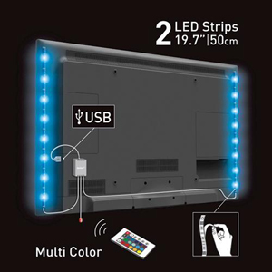 5v usb led strip lighttv background usb strip light 5050smd style 6 perfect lighting decoration solution for tv back light monitor back light tablet home made up reading motor cabinet cupboard corner and reading aloadofball Choice Image