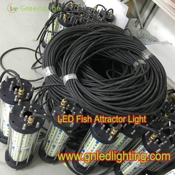 dc24v 220v 110v 500w fish attractor light green underwater fish, Reel Combo