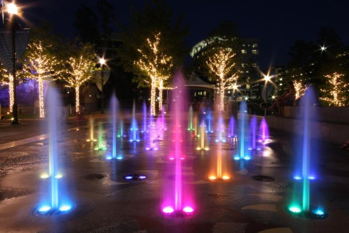 Gnh uw 9 1w a underwater fountain light led underwater - Swimming pool fountains and lights ...