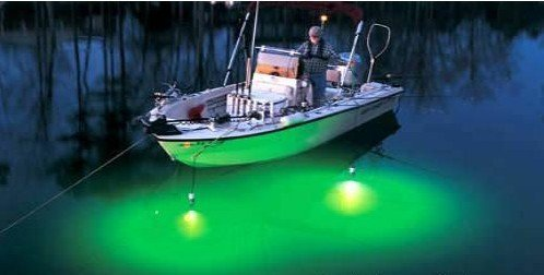Dc12v 24v Fish Attracting Light Fish Attracting Dock