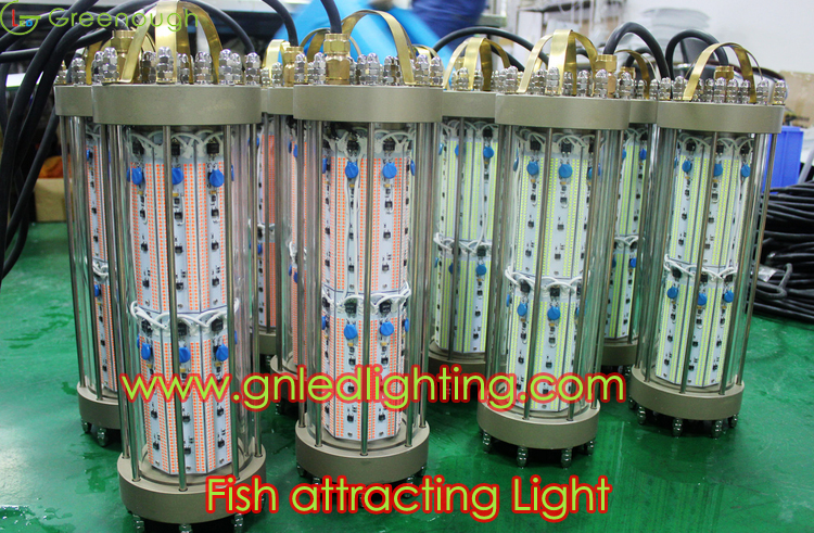 fish attracting lights/fish attracting lights green/ bait fish, Reel Combo