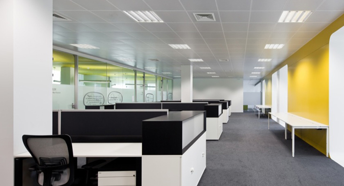 Office Lightingfluorescent Tubes And Led Panel Light For Office